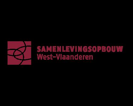 Logo samenlevingsopbouw West-Vlaanderen