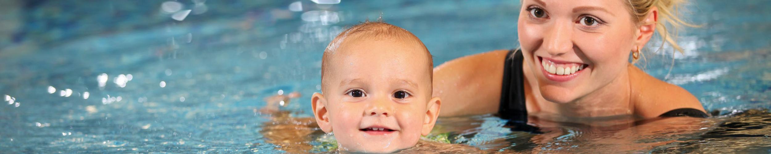Zwemmen voor kinderen vanaf 6 maanden