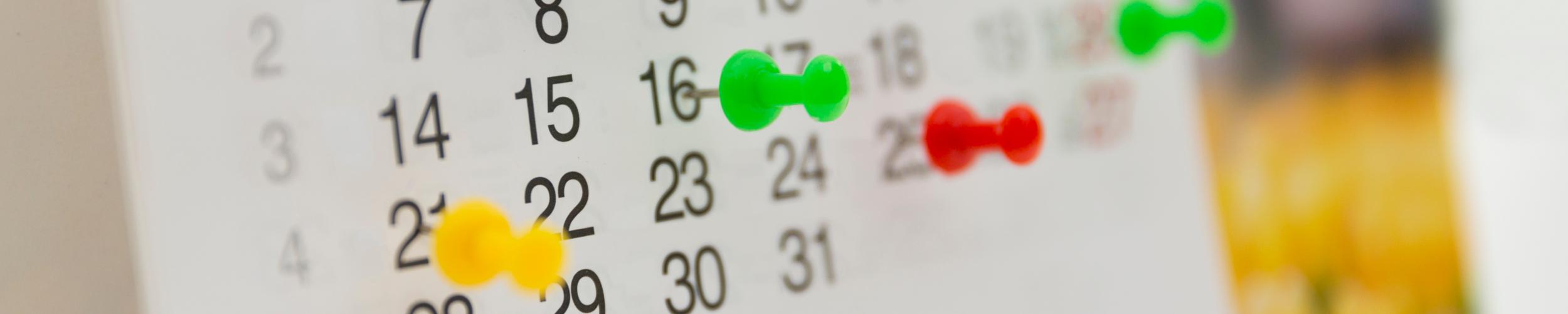 Algemene activiteitenkalender