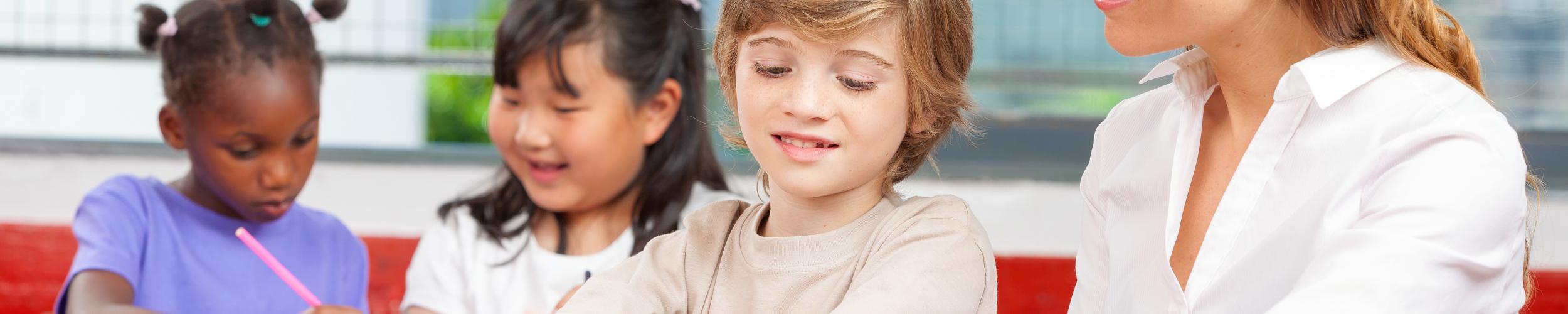 Huiswerkklas voor anderstalige kinderen