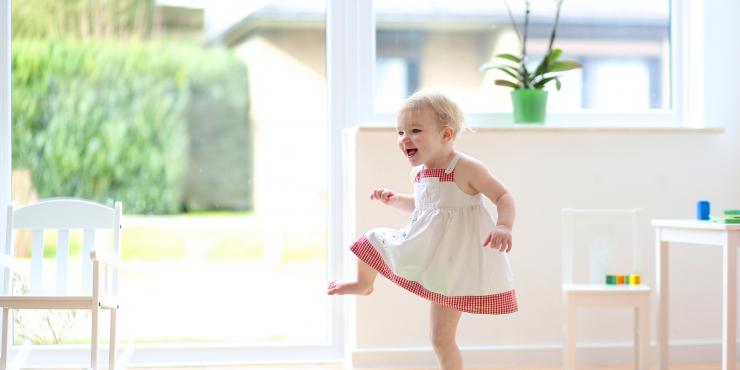 Workshop dans en beweging voor baby's en peuters