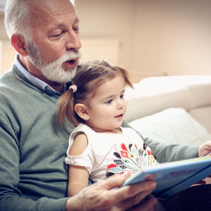 De Leeskriebel: voorlezen aan huis