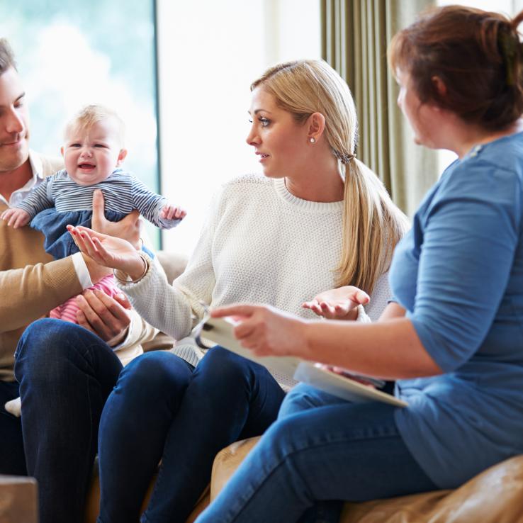 Amber: intensieve begeleiding aan huis voor baby
